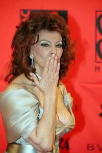 Sophia Loren 4 maja w Rzymie, fot. Franco Origlia  /Getty Images/Flash Press Media