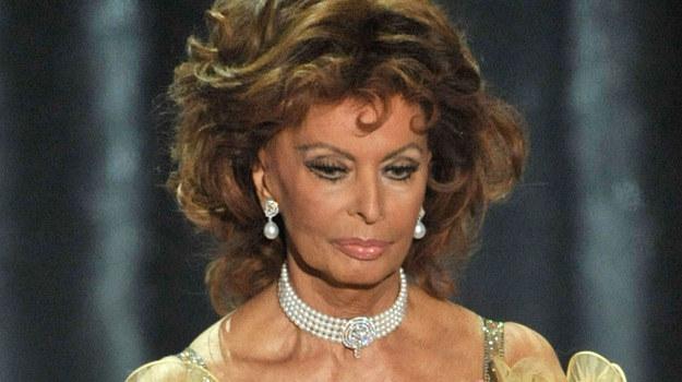 Sophia Loren wyznała, że codziennie rano odkurza swojego Oscara / fot. Kevin Winter /Getty Images/Flash Press Media