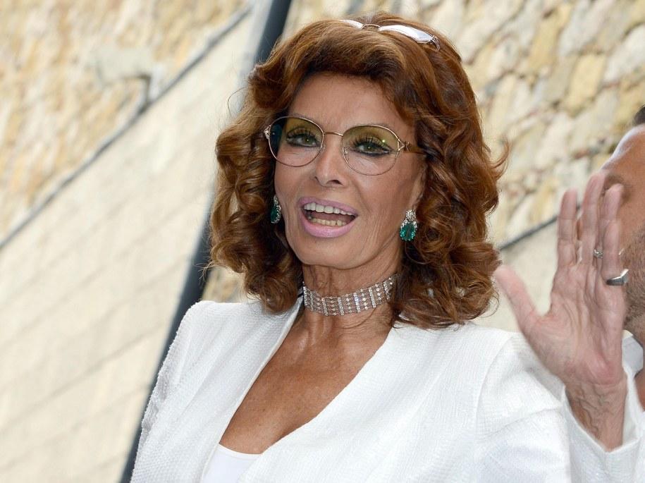 Sophia Loren /CLAUDIO ONORATI    /PAP/EPA