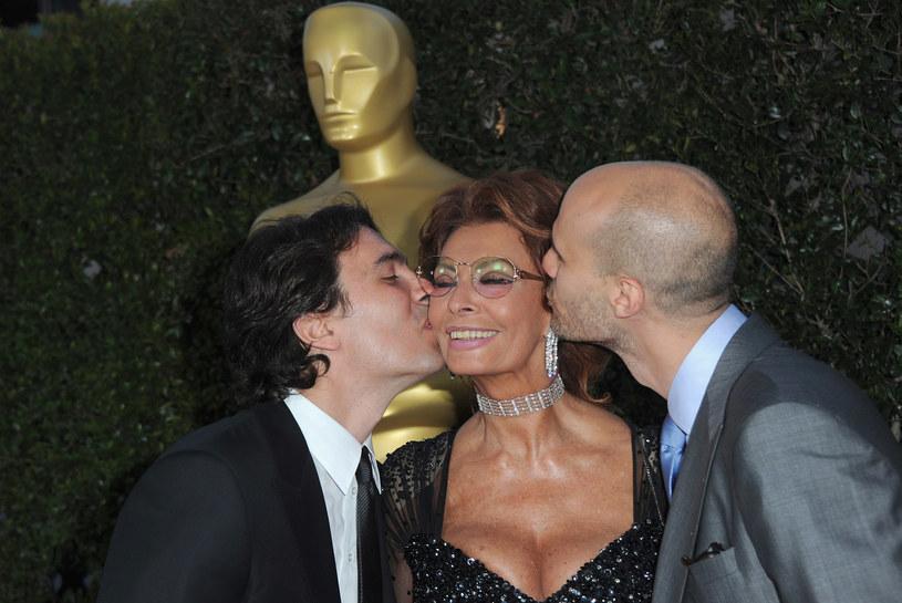 Sophia z synami /- /Getty Images