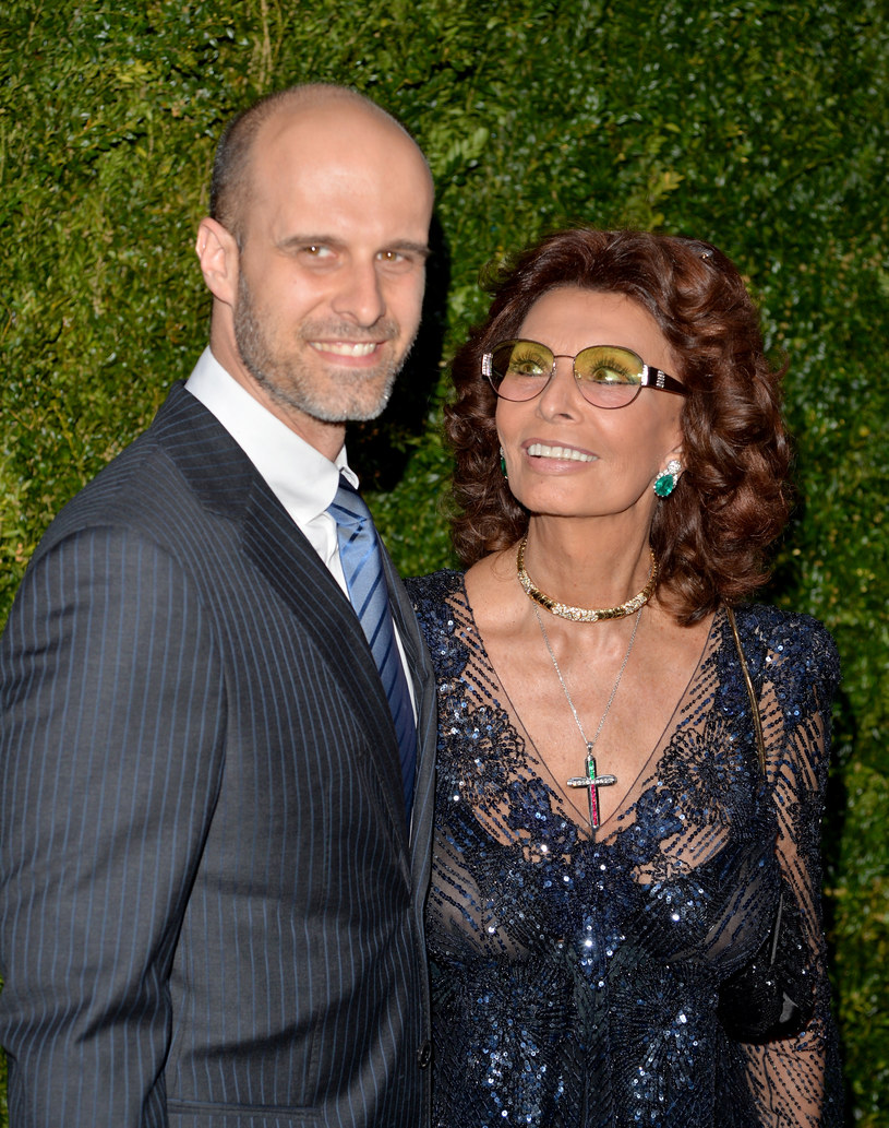 Sophia z synem Edorado /- /Getty Images