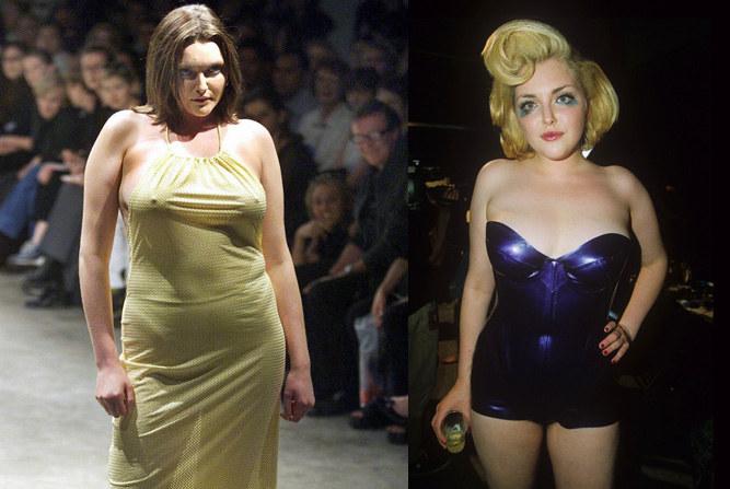 Sophie Dahl była pierwszą supermodelką w rozmiarze XL. Miała być przeciwieństwem anorektycznego ideału lansowanego przez Kate Moss /East News