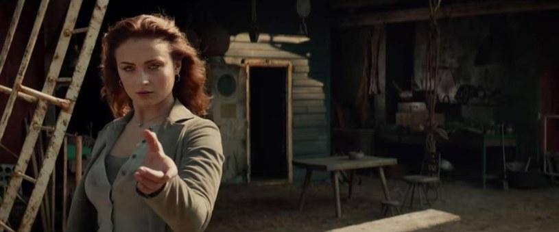 "Sophie Truner w filmie ""X-Men: Mroczna Phoenix"" /Wiese/FaceToFace/REPORTER /East News"