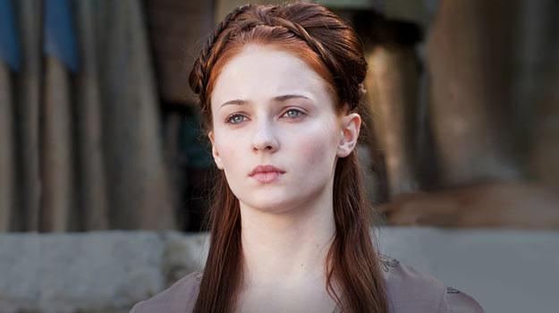 """Sophie Turner jako Sansa w serialu """"Gra o tron"""" /materiały dystrybutora"""
