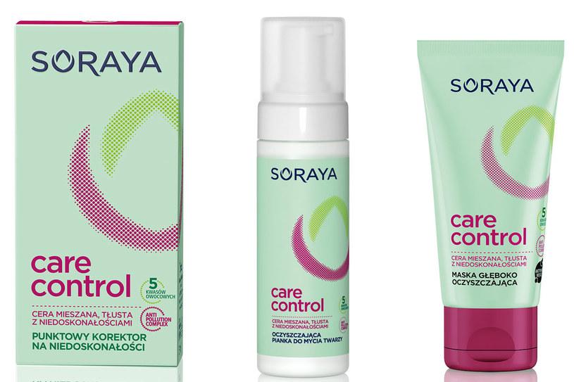 Soraya Care Constrol: Pielęgnacja do skóry tłustej i mieszanej /materiały prasowe