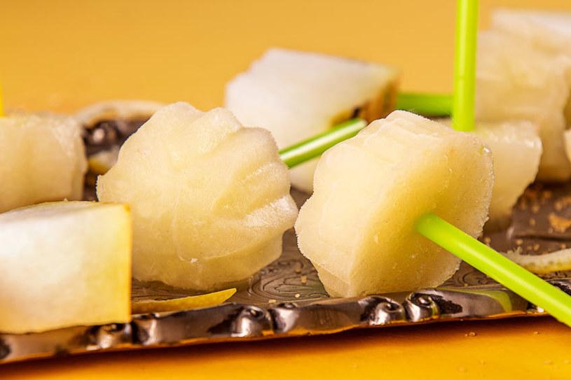 Sorbet z melona jest idealnym deserem na upały /123RF/PICSEL