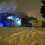 Sosnowiec: Wybuch na stacji benzynowej, dwie osoby ranne