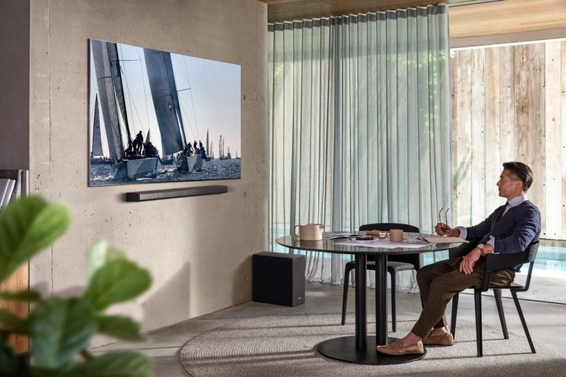 Soundbar Q950T to najwyższy model w ofercie Samsunga /materiały promocyjne