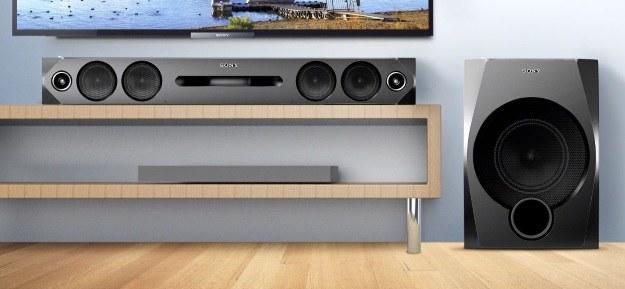 Soundbar Sony HT-GT1  - połączenie nowoczesnego wykonania i odrobiny stylistyki z lat 90. /materiały prasowe