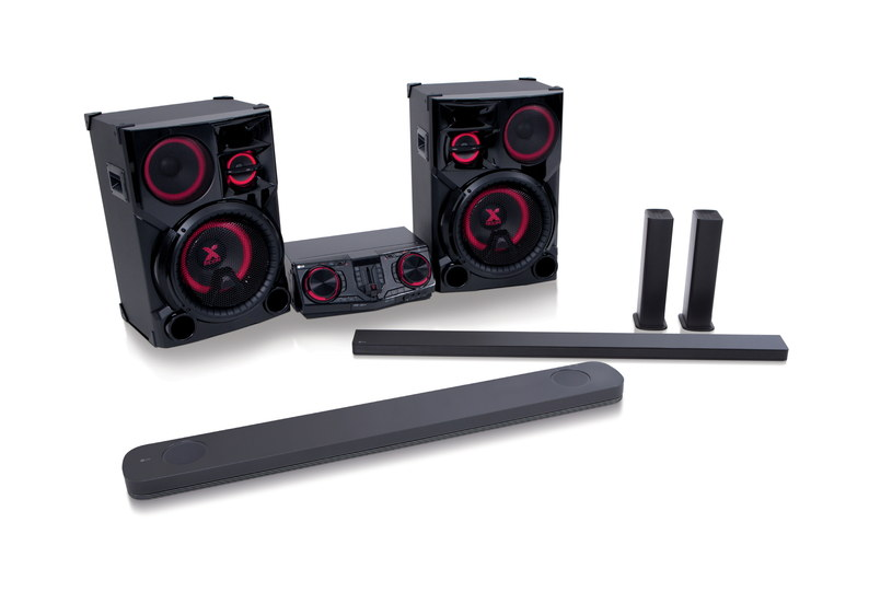 Soundbary LG i zestaw dla DJów LG LOUDR /materiały prasowe
