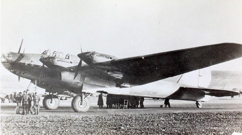 Sowiecki bombowiec dalekiego zasięgu Pe-8 /domena publiczna
