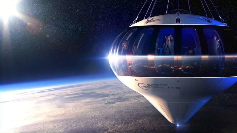 Space Perspective umożliwi podróże poza granice ziemskiej atmosfery /materiały prasowe