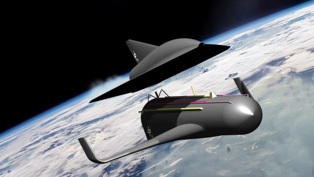 Spaceliner.   Fot. DLR /materiały prasowe