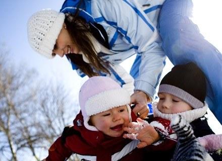 Spacer jest potrzebny każdemu dziecku nawet w zimę!