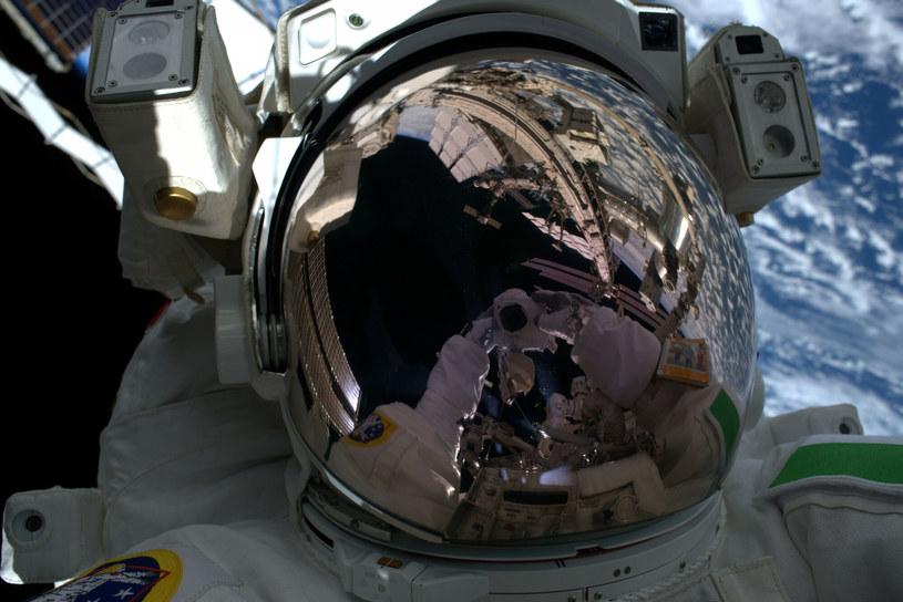 Spacer kosmiczny astronauty ESA Luca Parmitano /ESA /East News