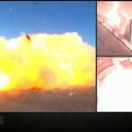 SpaceX - eksplozja Starshipa SN8 podczas próby lądowania