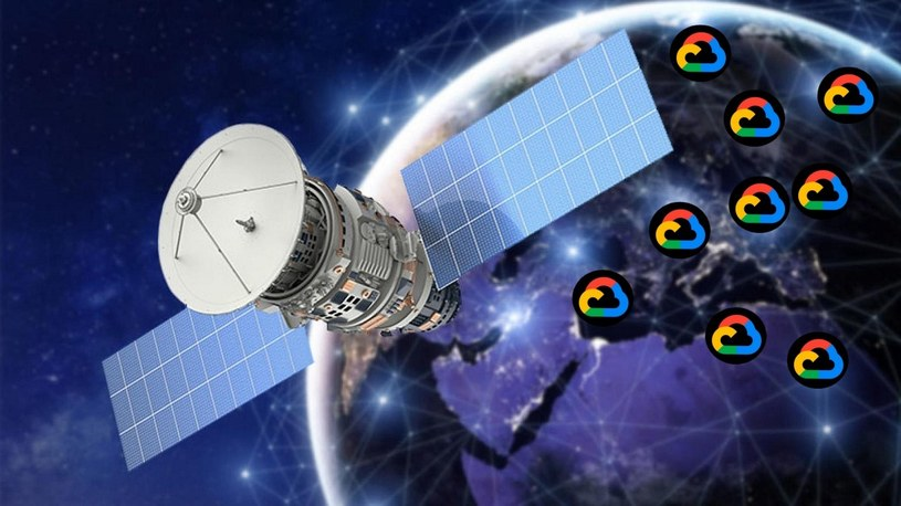 SpaceX łączy siły z Google. Starlink zaoferuje dostęp do Chmury Google /Geekweek