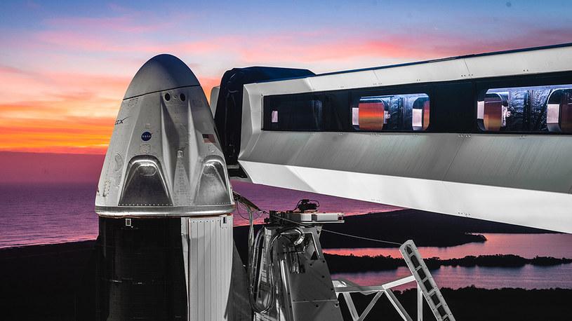 SpaceX podał termin nowej misji /materiały prasowe