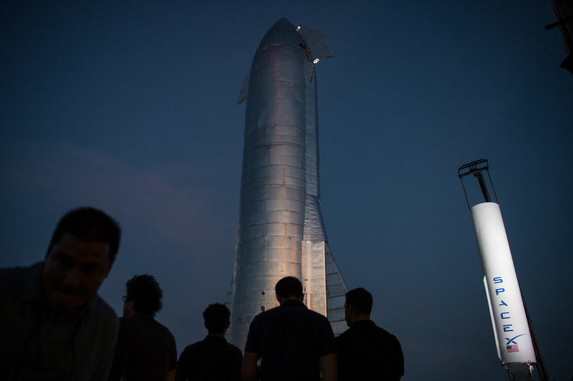 SpaceX Starship poleci do lipca? /AFP