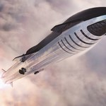 SpaceX Starship SN8 z nieudanym startem