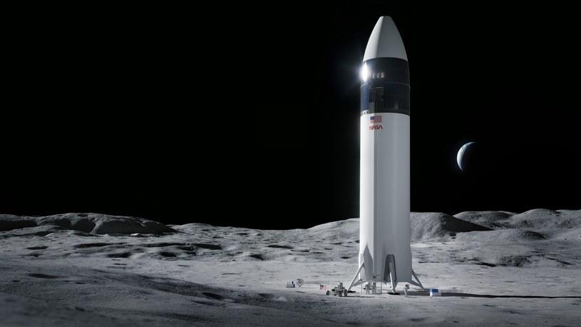 SpaceX zbuduje lądownik dla NASA /materiały prasowe