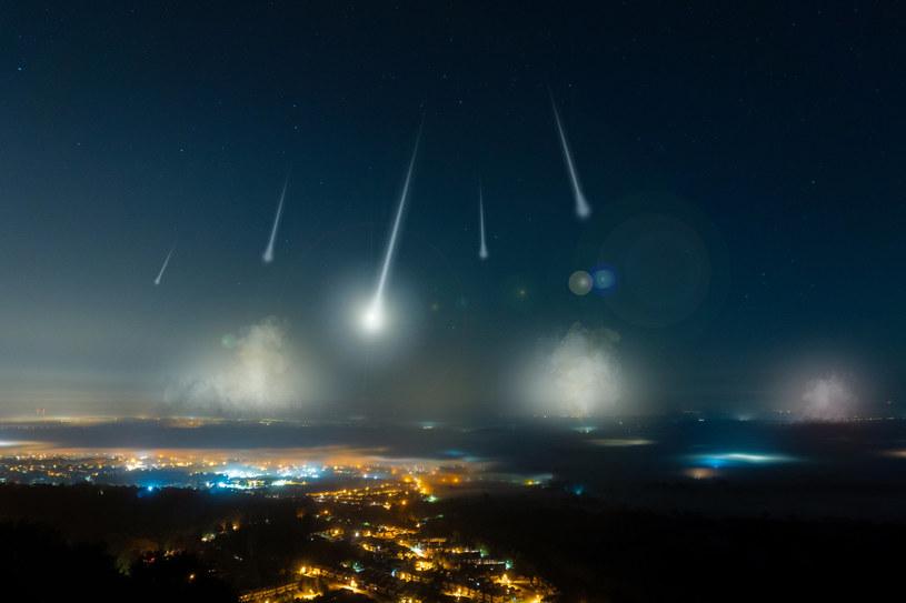 Spadające gwiazdy będzie można oglądać w nocy z 8 na 9 października /123RF/PICSEL