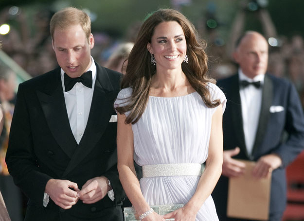 Spadek wagi Kate nie jest spowodowany dietą, a jedynie stresem - oznajmił rzecznik dworu /Getty Images/Flash Press Media