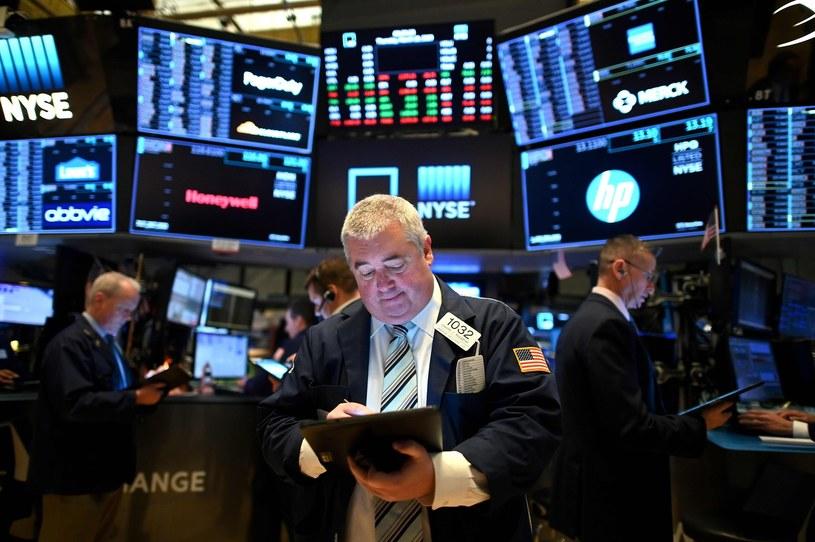 Spadki na Wall Street /AFP