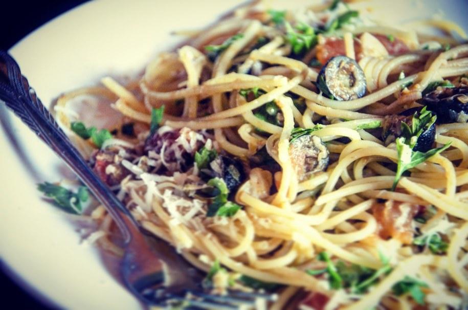 Spaghetti alla putanseca /Malwina Zaborowska /RMF FM
