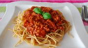 Spaghetti bolognese (po 18. miesiącu)