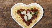 Spaghetti na Walentynki