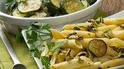 Spaghetti z cukinią i ziołami