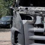 Spalone auto rajdowca Leszka K.