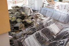 Spalony wieżowiec w Bytomiu. Trwa szacowanie strat
