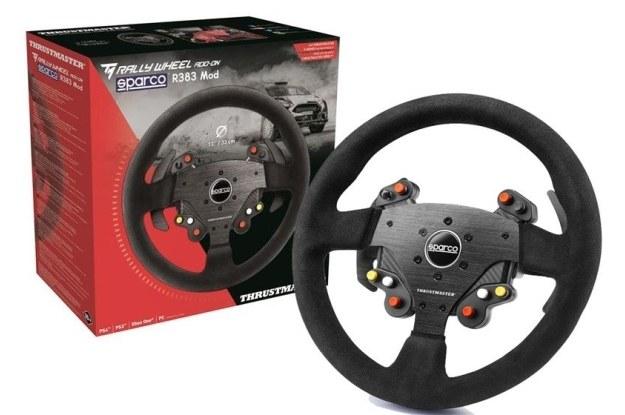 Sparco R383 - idealna replika kierownicy rajdowej /materiały prasowe