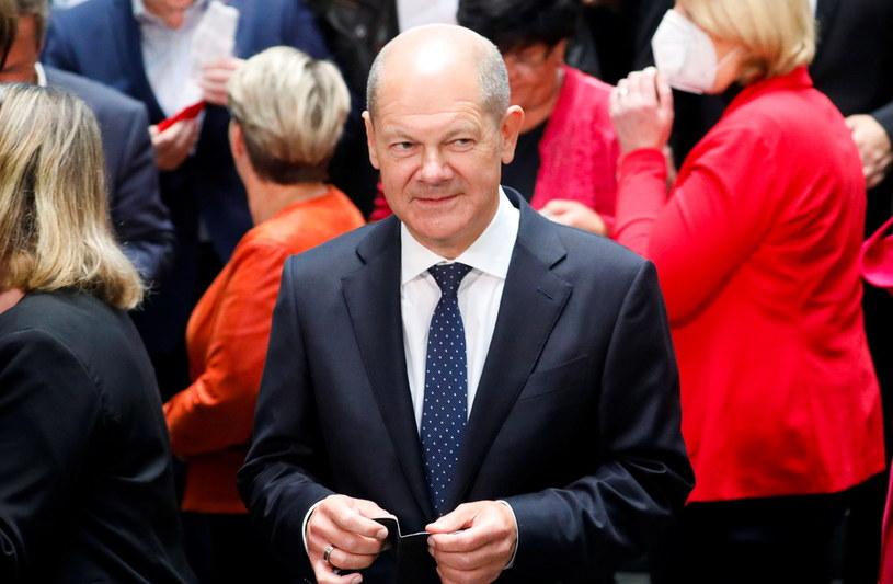 SPD wygrała wybory do Bundestagu /Michele Tantussi /Agencja FORUM
