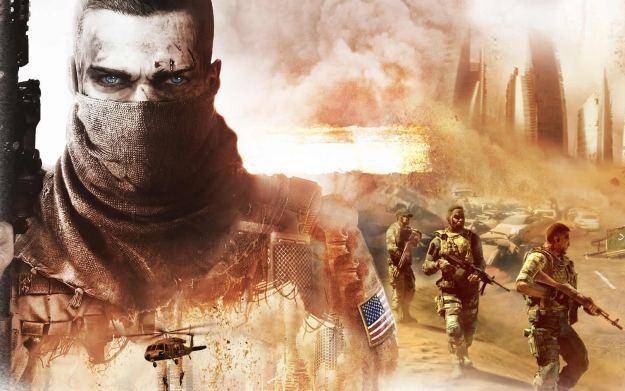 Spec Ops: The Line - motyw graficzny /Informacja prasowa
