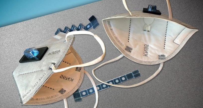 Specjalna maseczka diagnostyczna przygotowana przez MIT /materiały prasowe