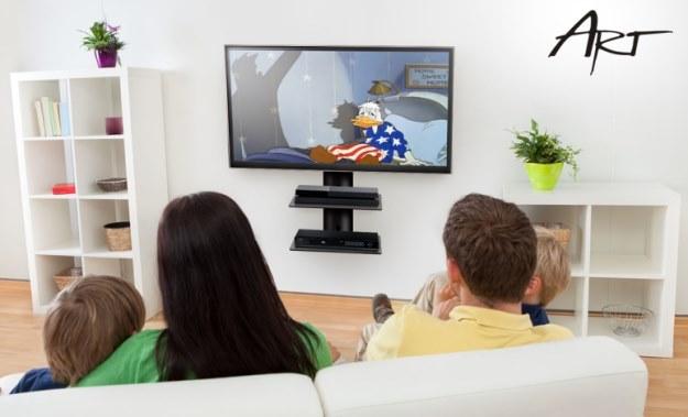 Specjalna półka lub stolik na telewizor - w tym przypadku, model firmy ART, T-27 i T-28 /materiały prasowe