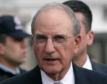 Specjalny wysłannik USA na Bliski Wschód, George Mitchell /AFP