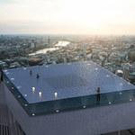 Spektakularny basen na szczycie wieżowca w Londynie