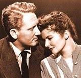 Spencer Tracy i Katharine Hepburn /Archiwum