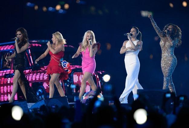 Spice Girls podczas ceremonii zamknięcia Igrzysk Olimpijskich w Londynie - fot. Pascal Le Segretain /Getty Images/Flash Press Media