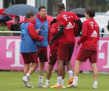 Spięcie Lewandowskiego i Boatenga na treningu Bayernu Monachium