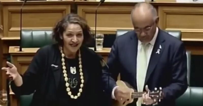 Śpiewający parlament w Nowej Zelandii /Time 4 News /YouTube