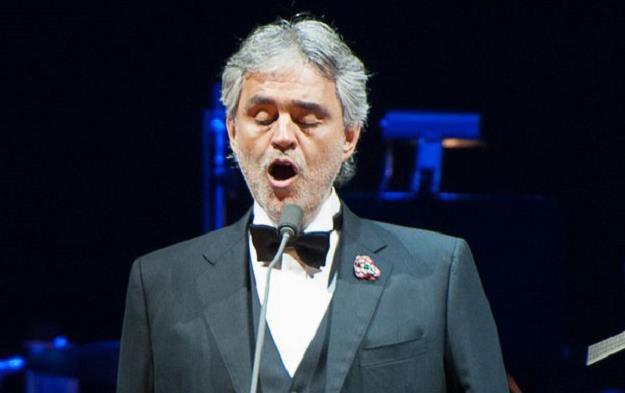 Śpiewak operowy Andrea Bocelli. /AFP