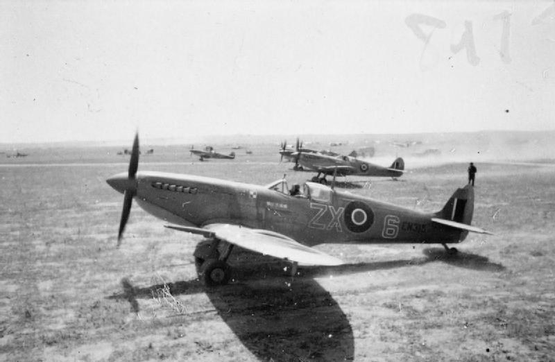Spitfire Mk. IX należący do eskadry C 145 Dywizjonu /Wikimedia Commons /INTERIA.PL/materiały prasowe