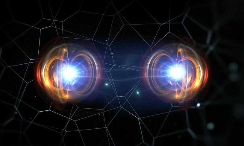 Splątanie kwantowe to jedno z najdziwniejszych zjawisk w przyrodzie /123RF/PICSEL