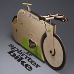 SplinterBike Quantum - absolutnie drewniany rower