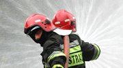 Spłonął Dworek Myśliwski w Nowym Tomyślu